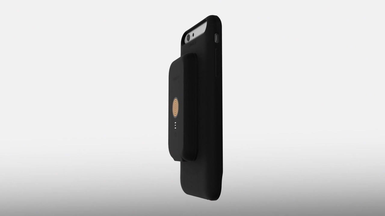 stacked wireless charging iphone this case lets you swap magnetic battery packs