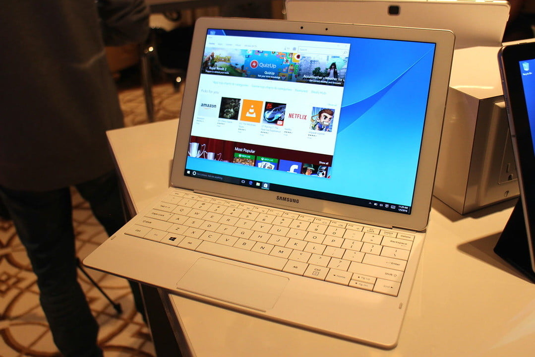 samsung tabpro s hands on ces 2016 galaxy  specs release date and more