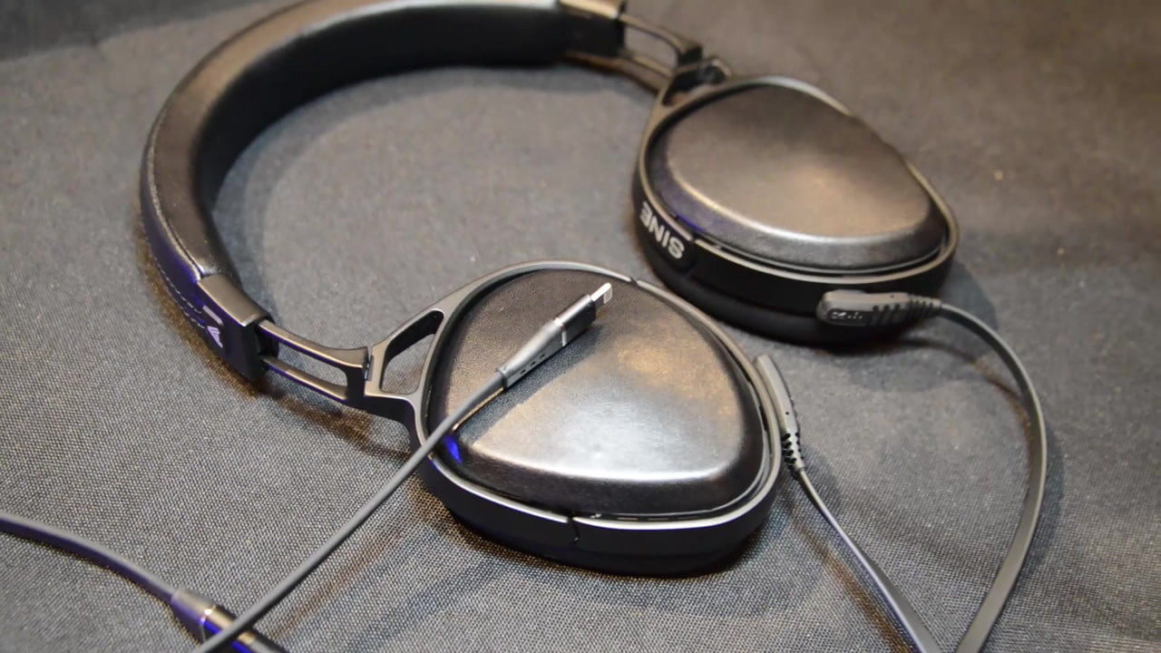 audeze sine headphones cypher cable first look  500 for awesome portable sound