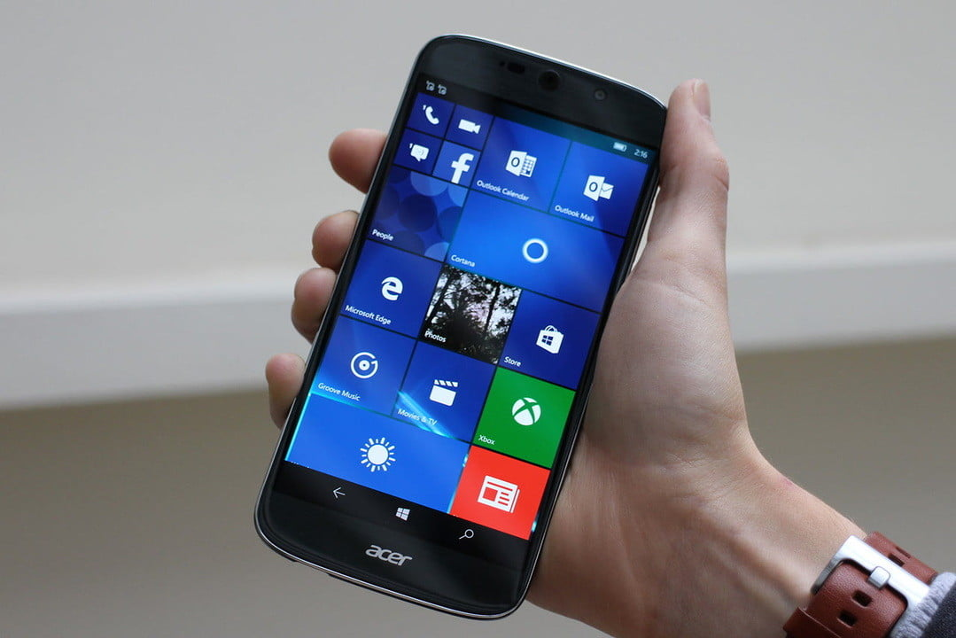 acer liquid jade primo hands on windows continuum made us want s