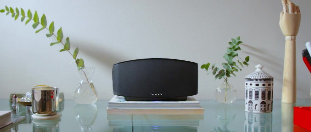 oppo sonica available for purchase wireless speaker now