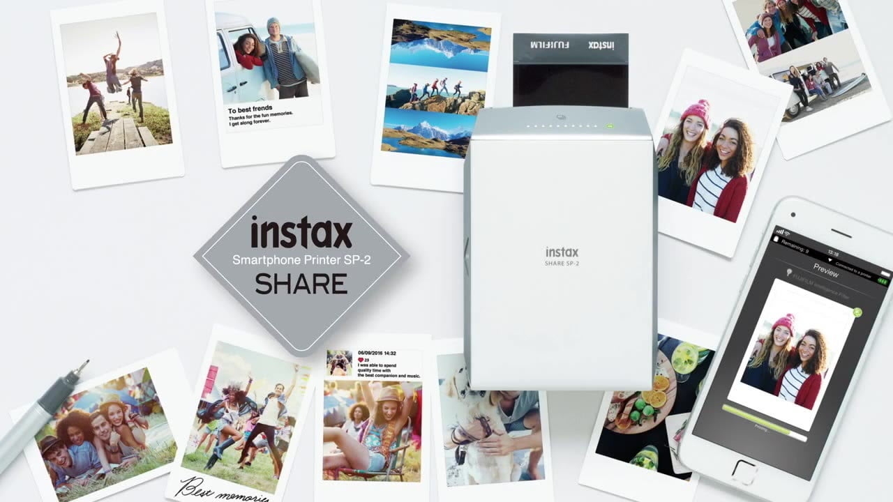 fujifilm launches instax share sp2 photo printer sp 2  a faster instant