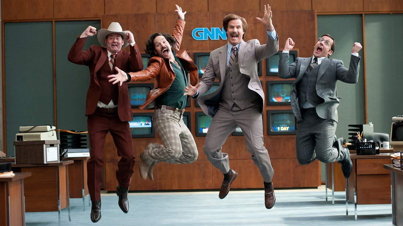 anchorman 2 legend continues  the review
