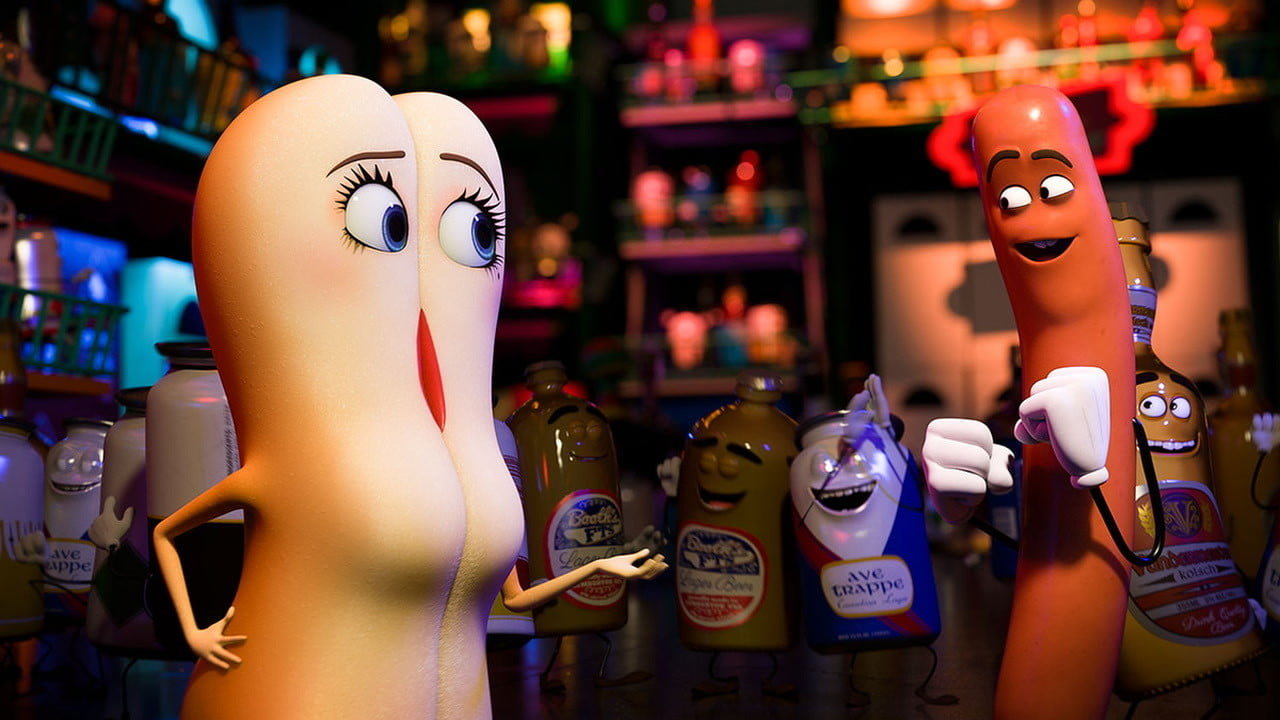 sausage party review  raunchy ridiculous and clever too