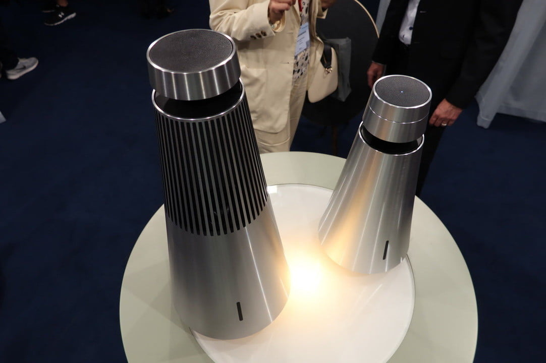 bang olufsen beosound 1 2 360 degree speakers  and