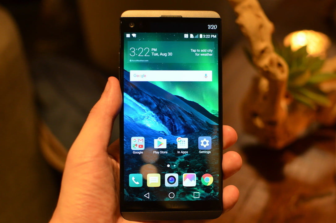 lg v20 news hands on  android 7 0 nougat powered smartphone