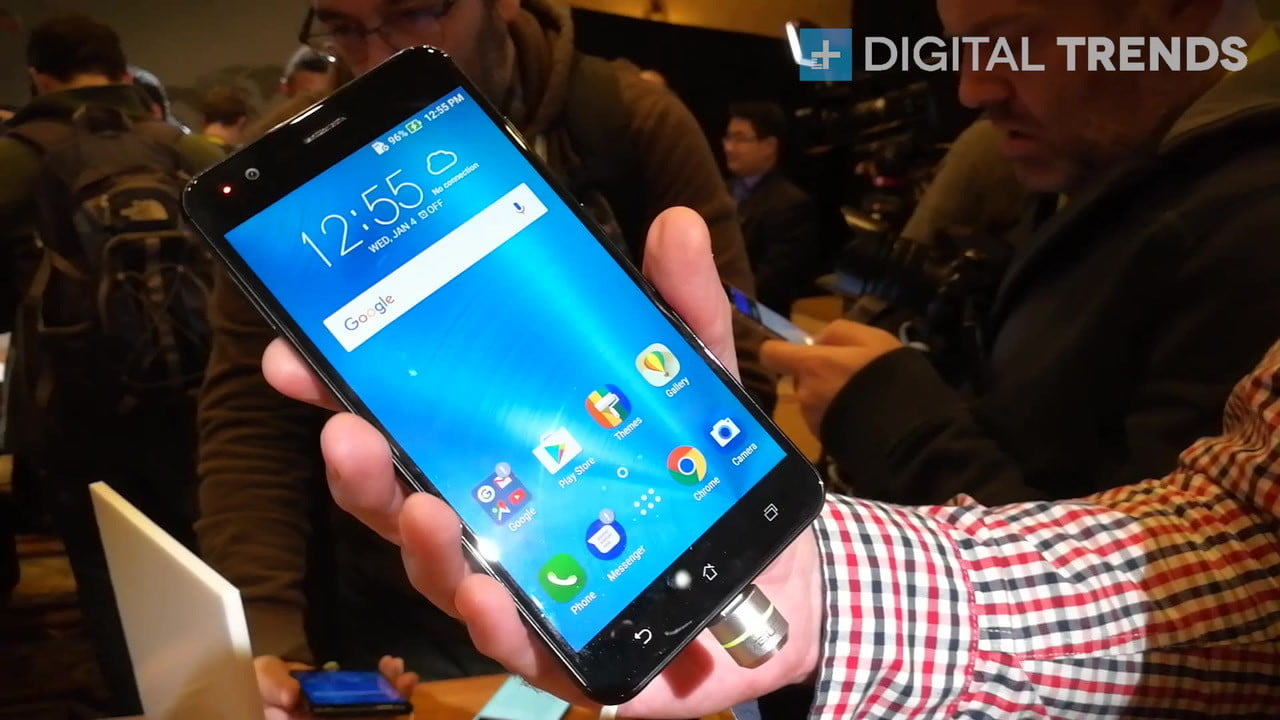asus zenfone 3 zoom first impressions ces 2017 takes the iphone 7 plus design  then one ups its dual lens cam