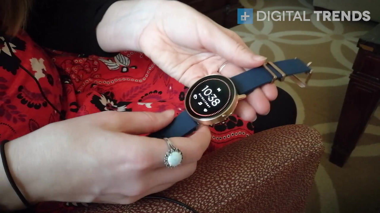 misift vapor first take ces 2017 misfit smartwatch  impressions