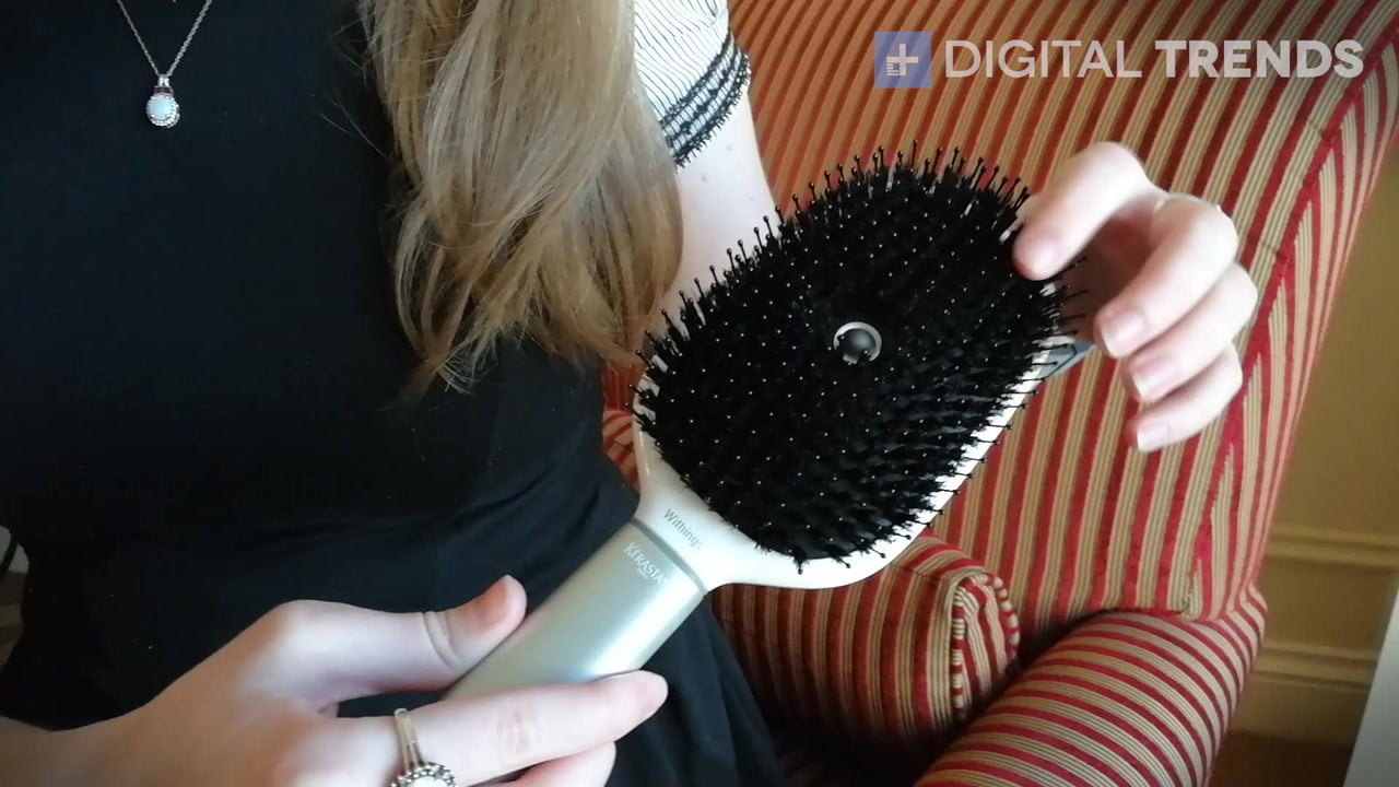 withings kerastase hairbrush ces 2017 hair coach smart first impressions