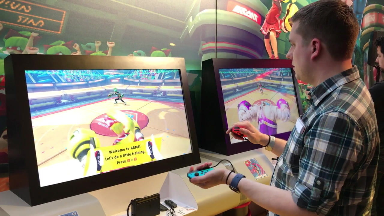 arms nintendo switch first take  on impressions