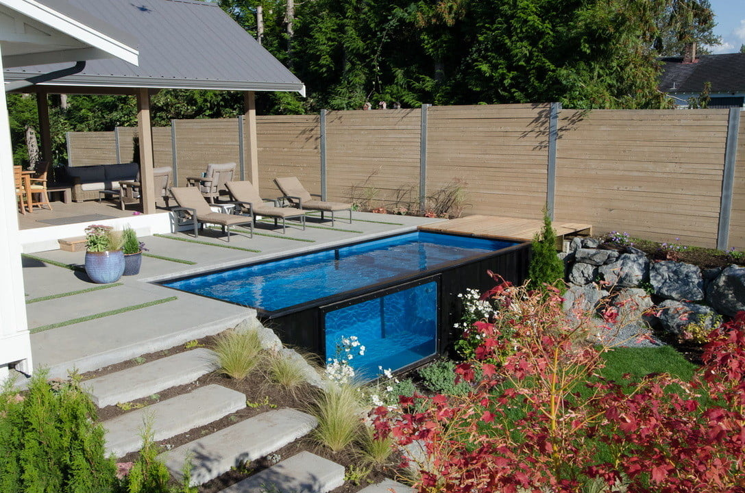 modpool shipping container pool the is a for your modern home