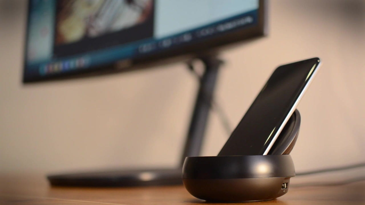 samsung dex first impressions review galaxy s8 dock  hands on