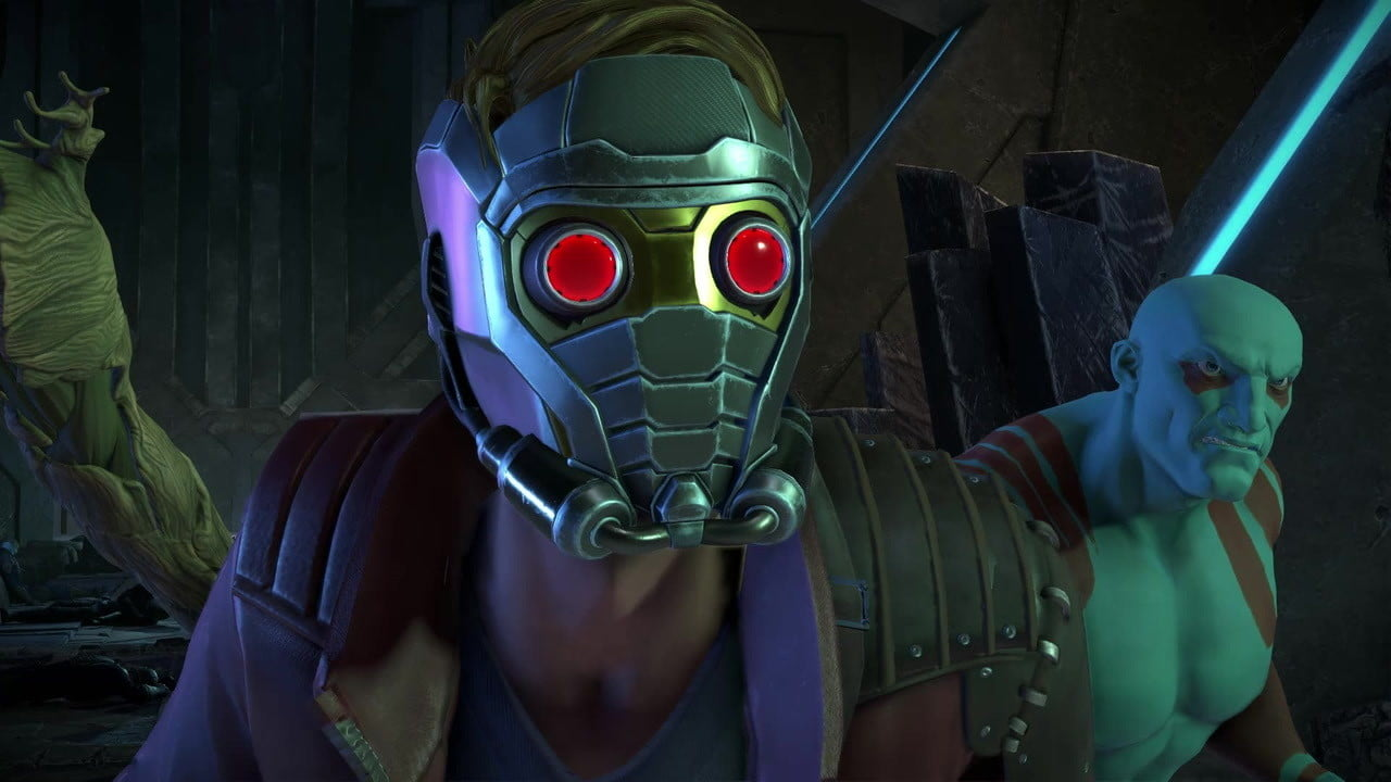 telltale guardians of the galaxy hands on review marvel  s series