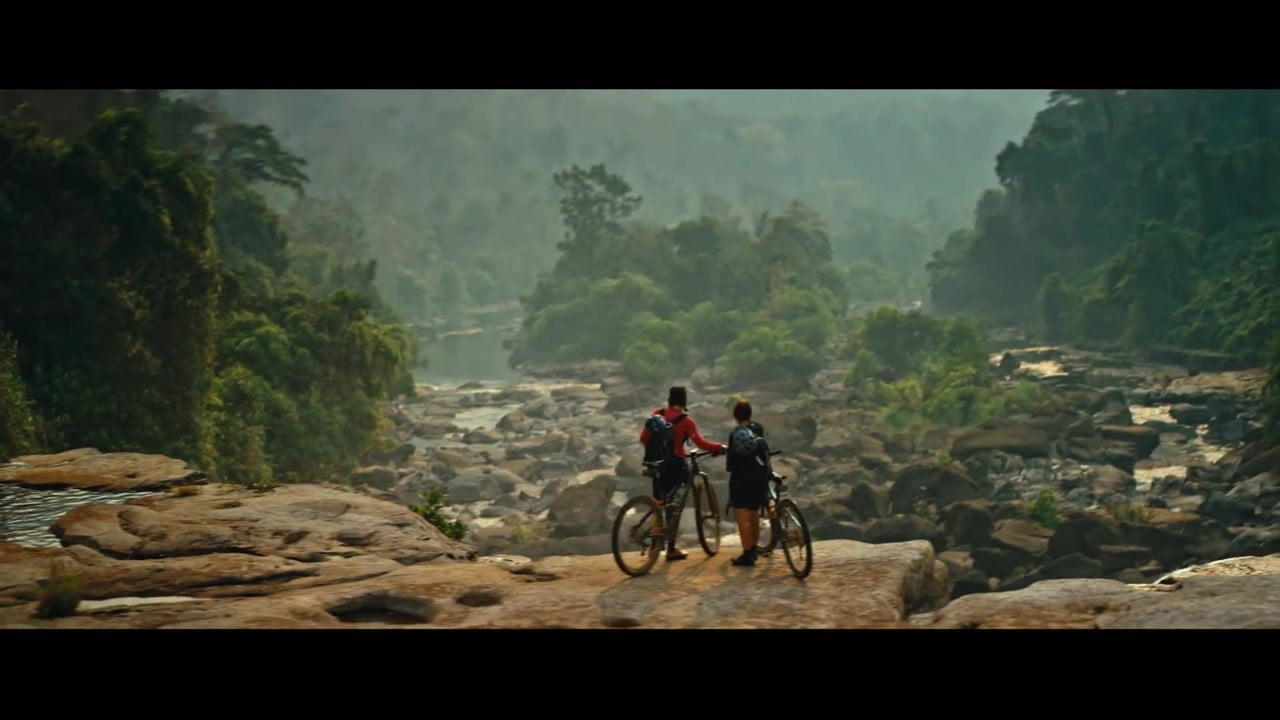 how red bull filmed mountain biker rebecca ruschs gripping blood road rusch  s personal story in