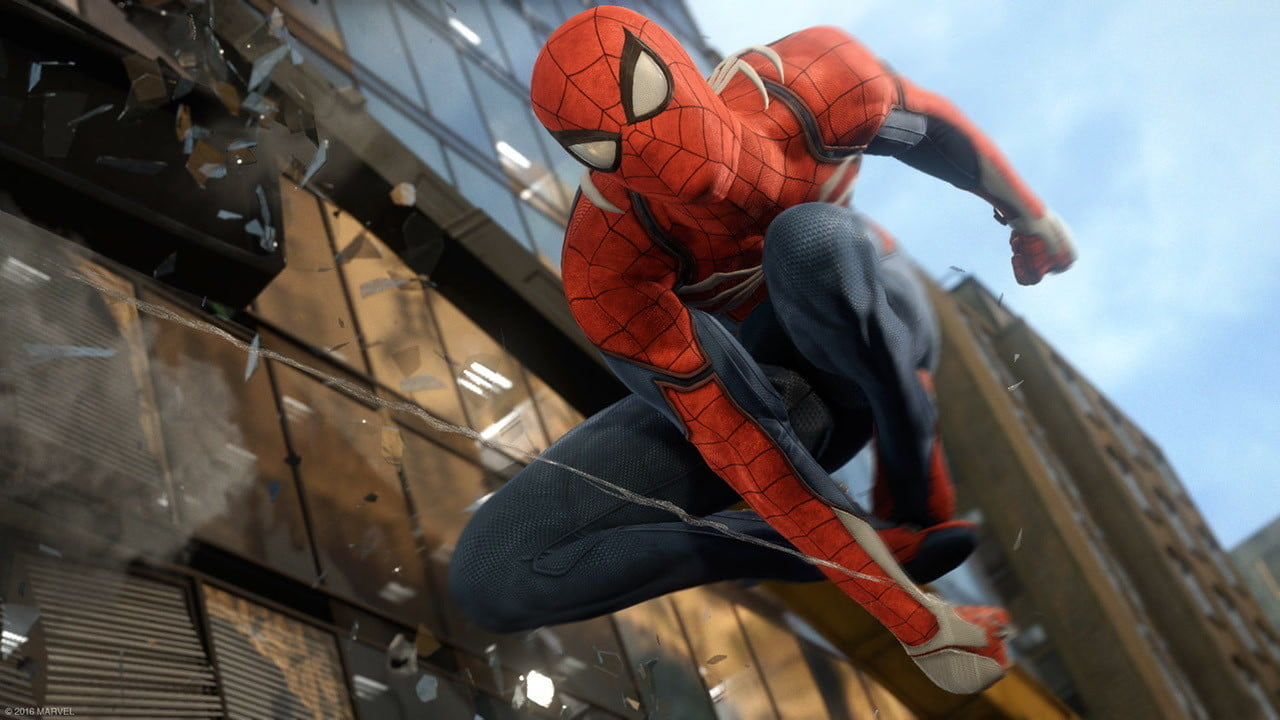 spider man ps4 e3 2017 preview marvel s  video game