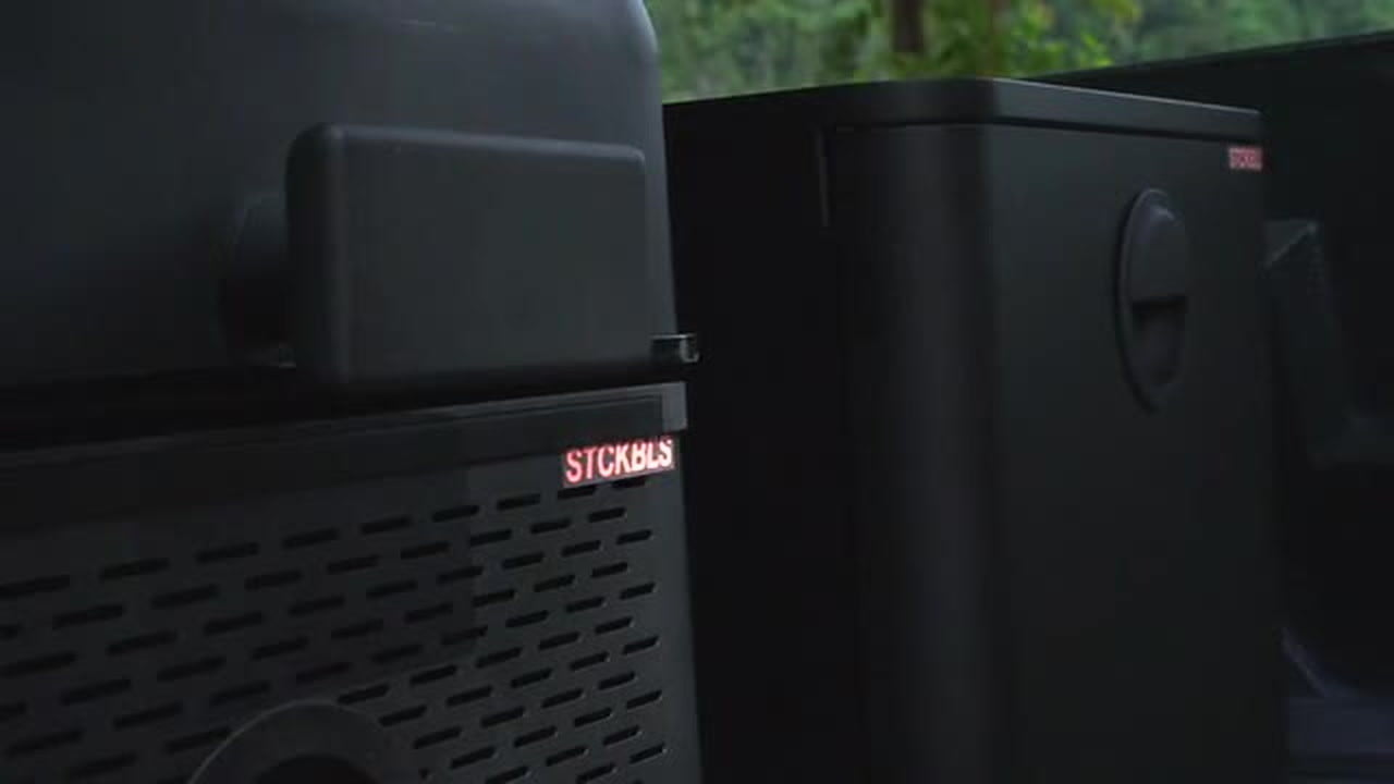 stckbls modular portable grilling system is a  for camping and tailgating