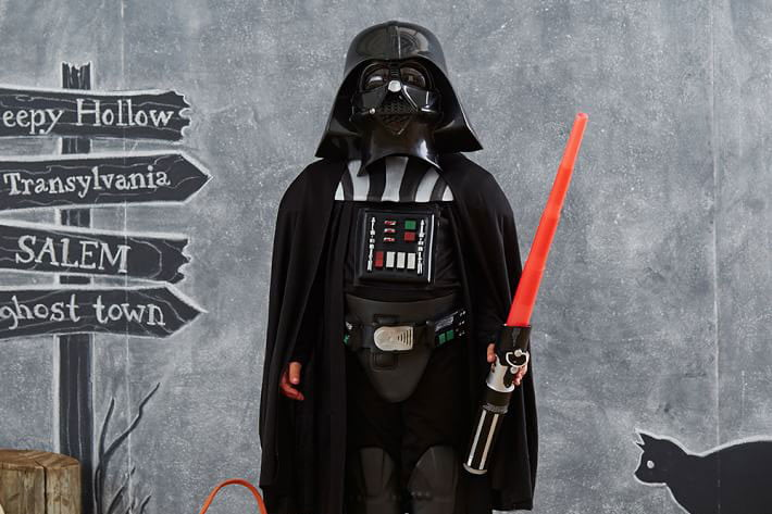 pottery barn has a 4000 star wars bed for sale darth vader  costume 19 59