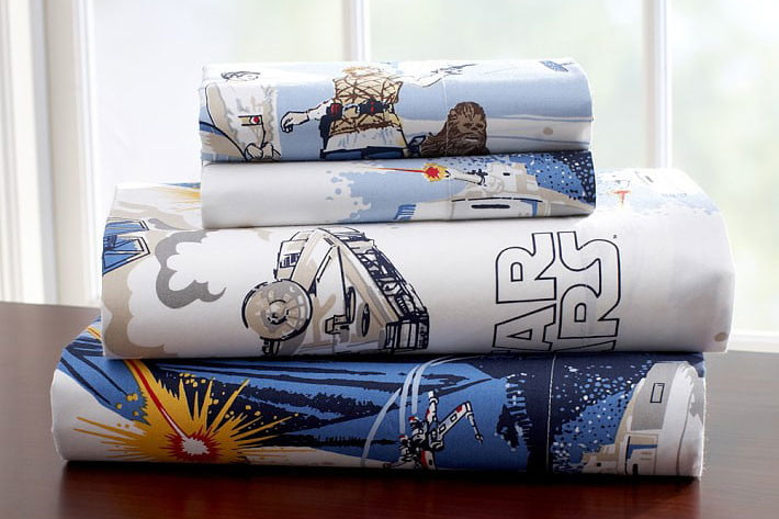 pottery barn has a 4000 star wars bed for sale  the empire strikes back sheet set 17 119