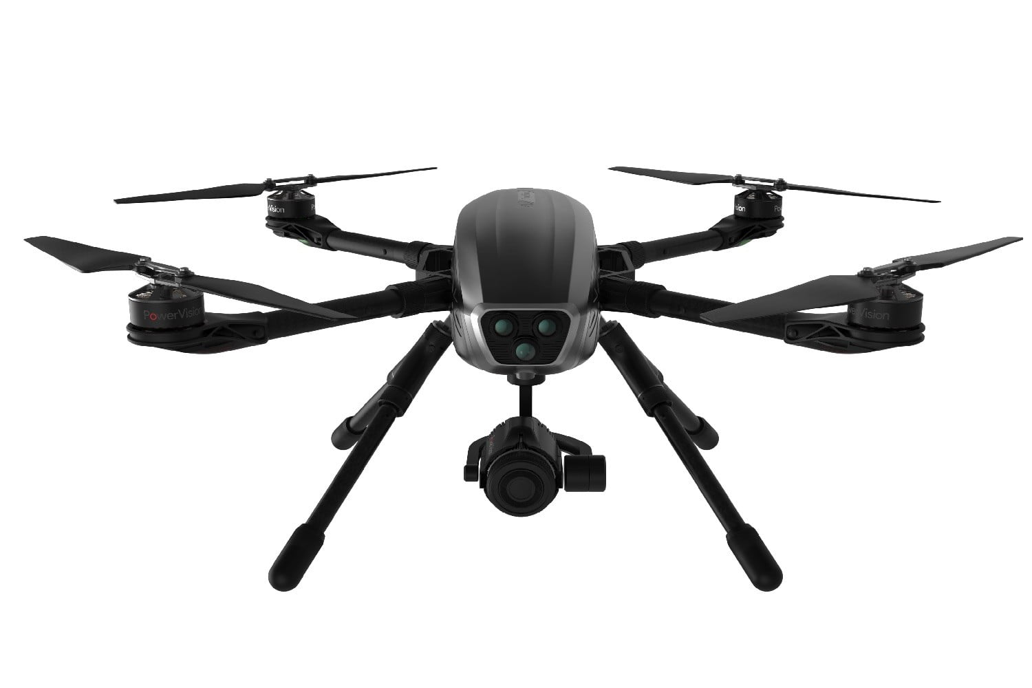 powereye cinematography drone front white background