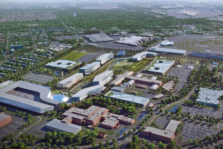Ford product campus rendering