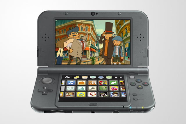 Professor Layton and the Azran Legacy on Nintendo 3DS.