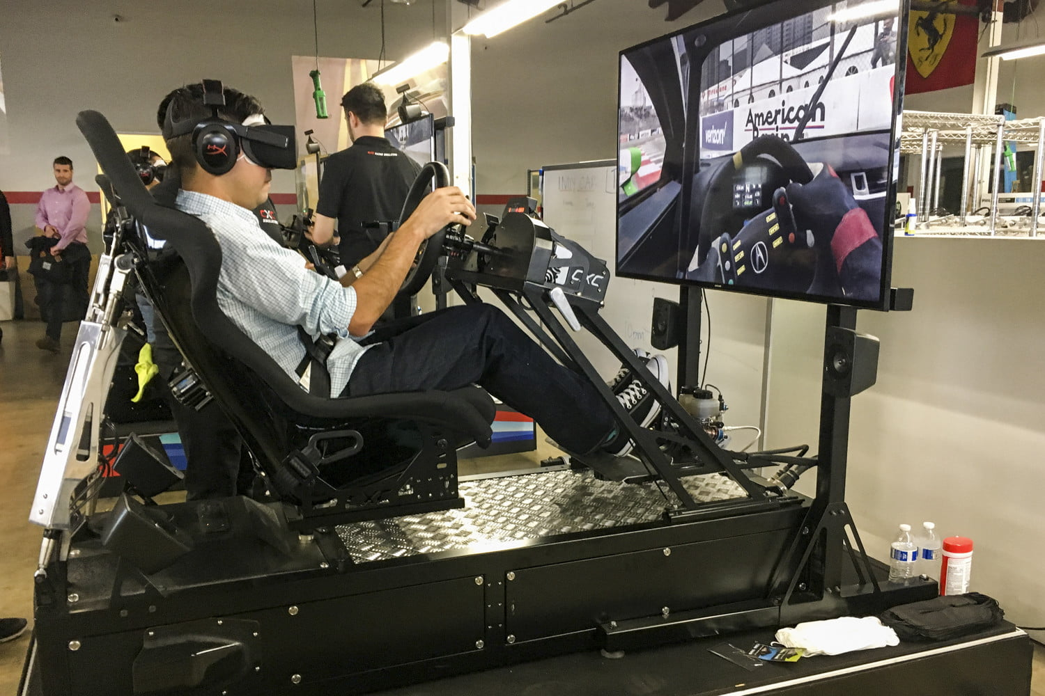 we played project cars 2 in a gigantic racing simulator projectcars2 testdrive 397 12