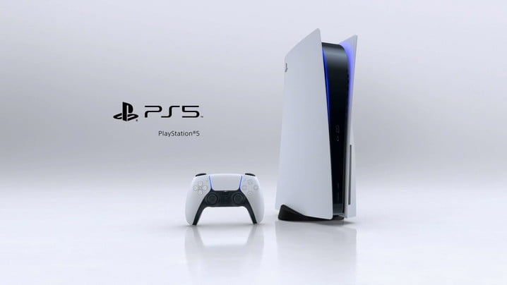 Playstation 5 with disk drive