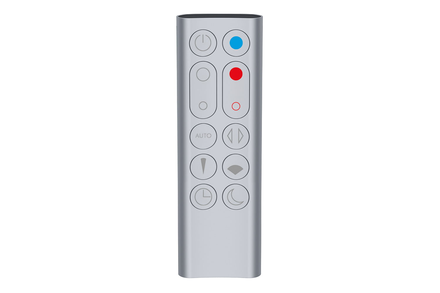 dyson pure hotcold link hot cool  remote silver
