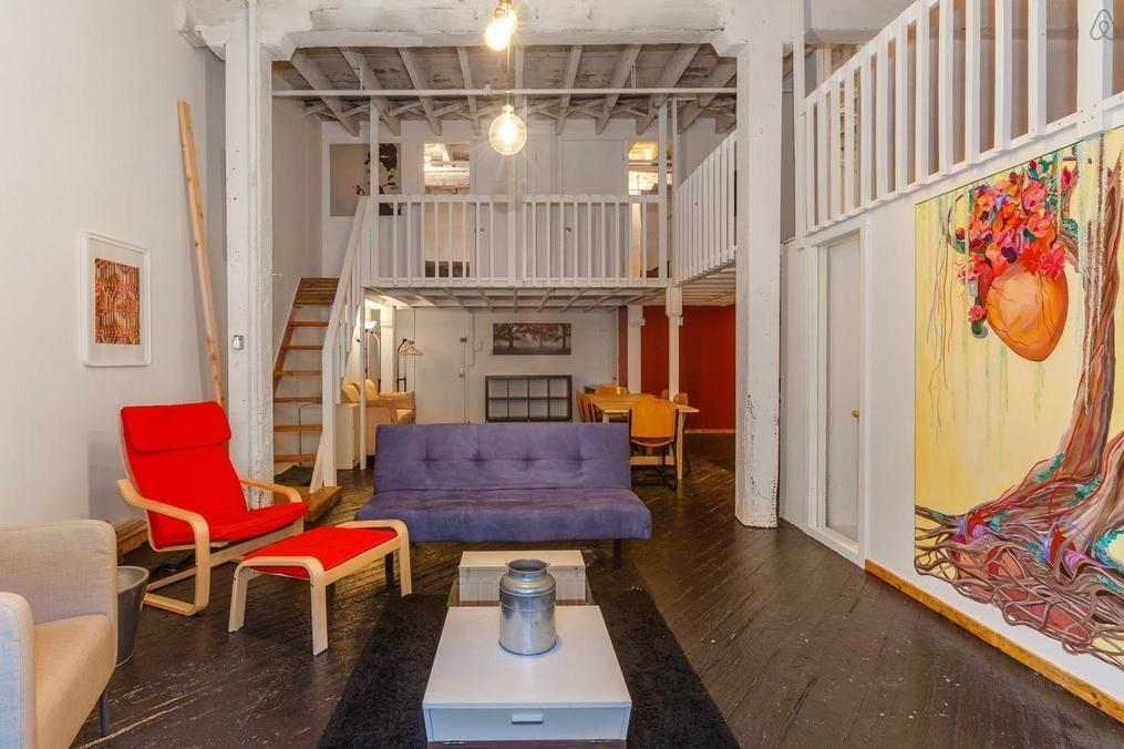 pure house co living apartment couch