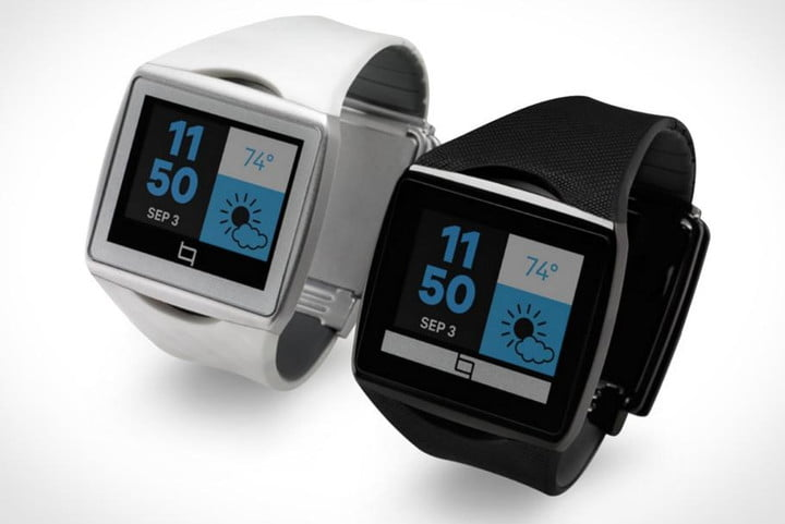 smartwatches are going to make smartphone screens obsolete qualcomm toq smartwatch white black