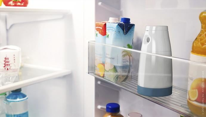 quirkys snapchat for grocery shopping device will remind you whats in your fridge quirky insider camera