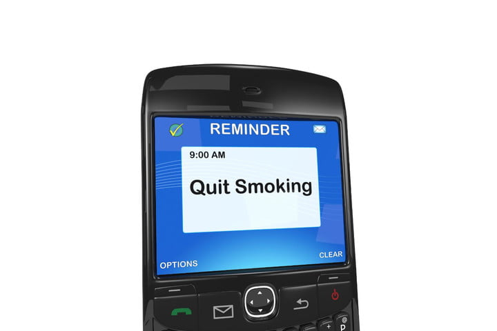 Quit smoking text message