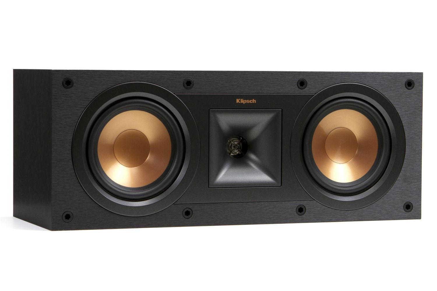 klipsch unveils stockpile new speakers reference home theater line r 25c angle