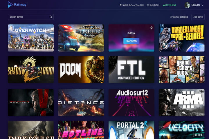 rainway pc game streaming nintendo switch support
