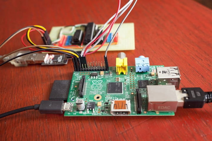 engineer builds cell phone raspberry pi