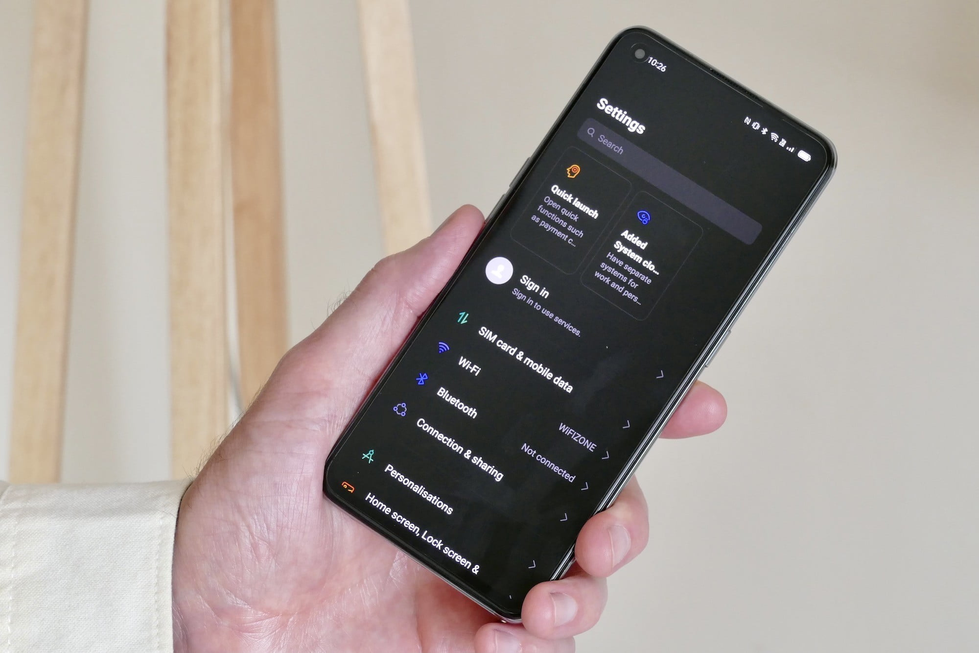 realme gt hands on features price photos release date settings page
