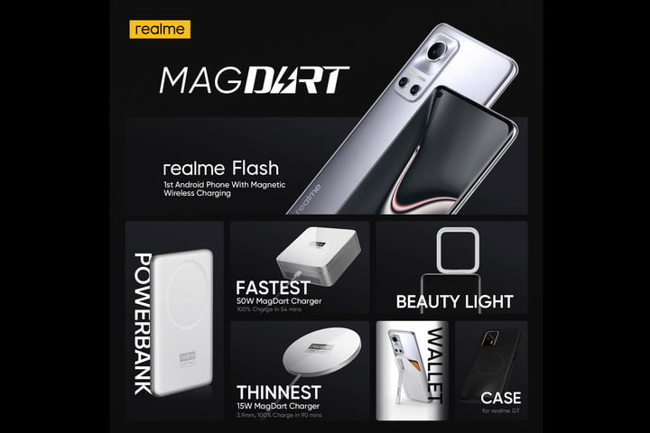 Realme MagDart products.