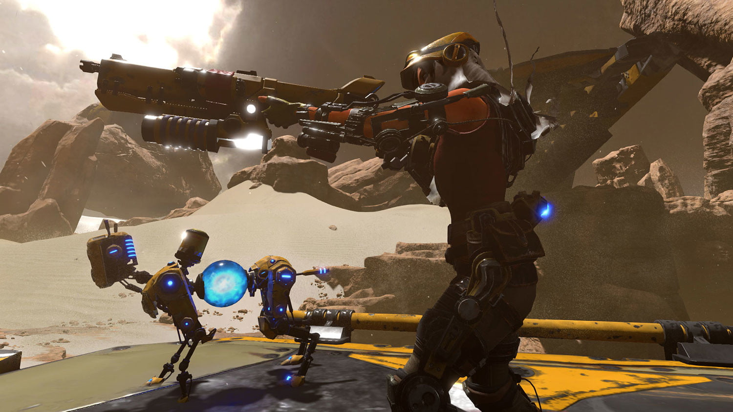 recore hands on ready for action