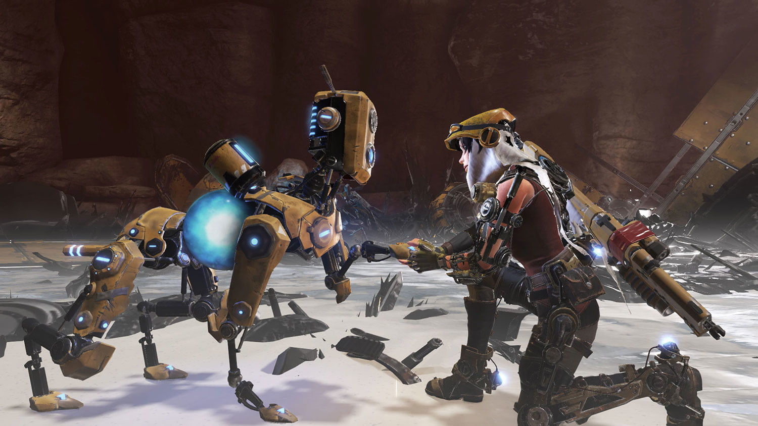 recore hands on joule and mack