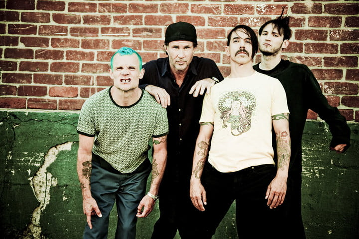 new red hot chili peppers record is in the home stretch
