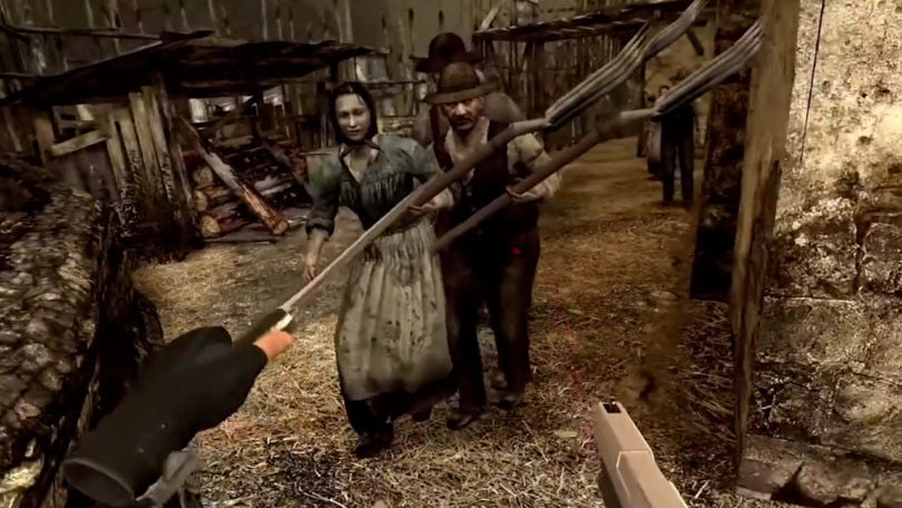 Resident Evil 4 VR is coming just in time for Halloween