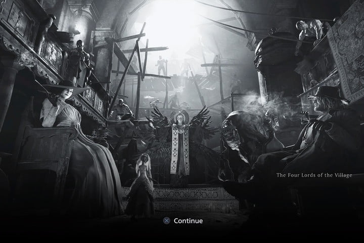 Resident Evil Village The For Lords Loading Screen