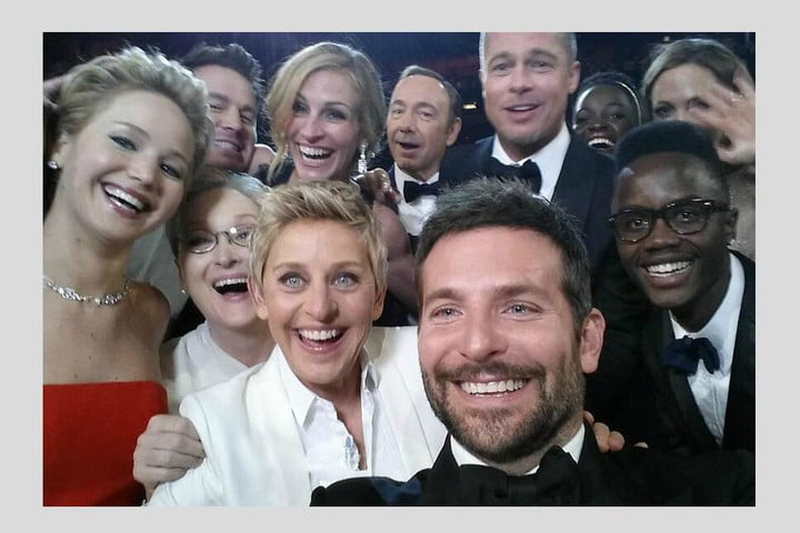 twitter offers stats on tweets from the oscars retweet record
