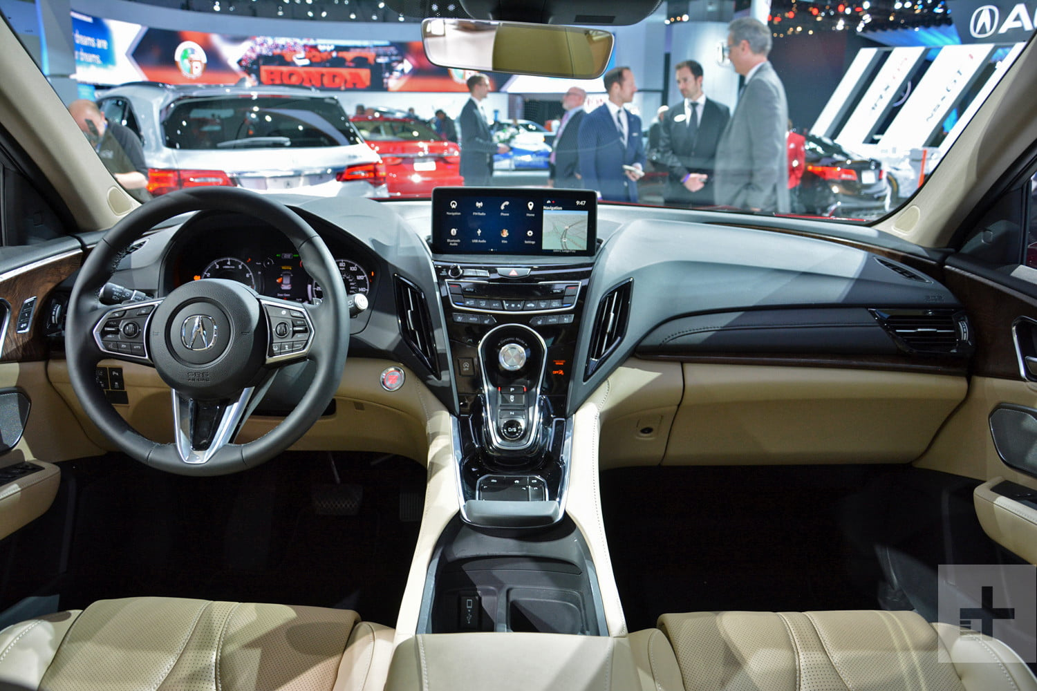 acura true touchpad infotainment system review rg rdx prototype 1