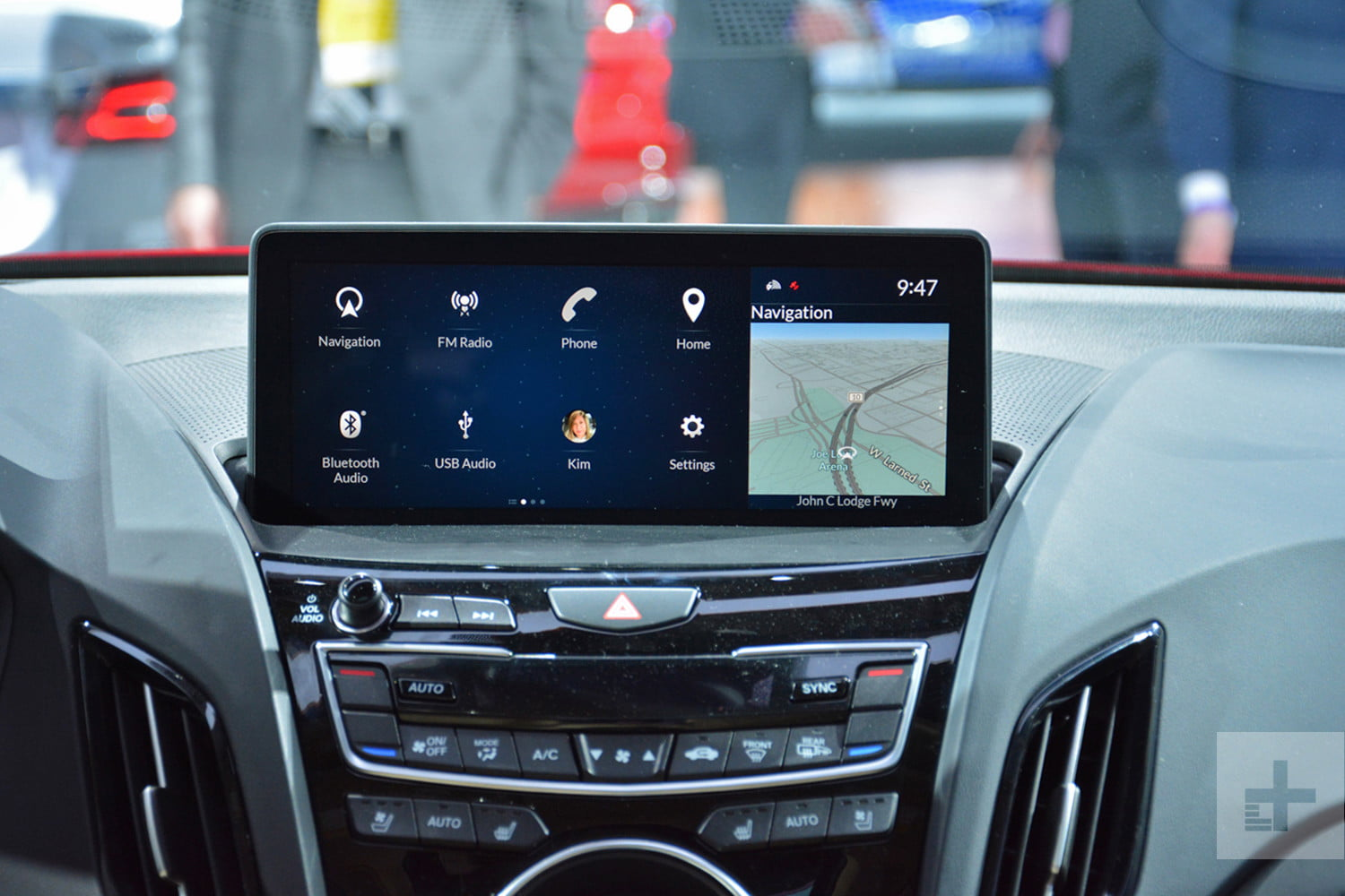 acura true touchpad infotainment system review rg rdx prototype 2