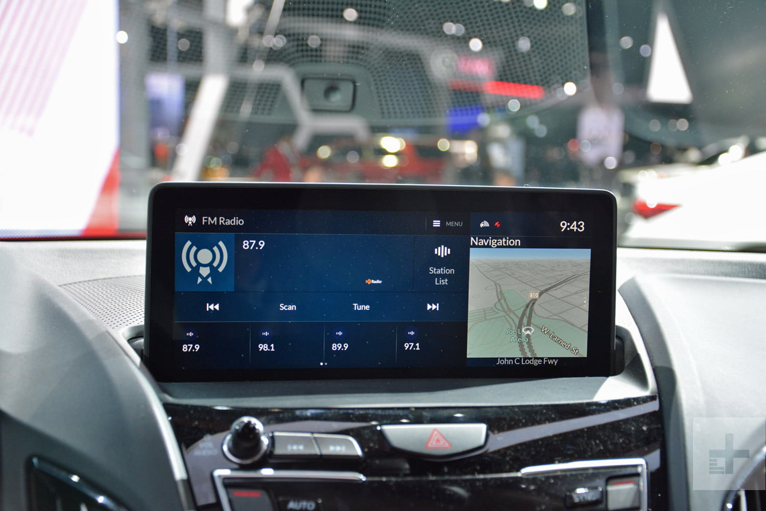 acura true touchpad infotainment system review rg rdx prototype 5