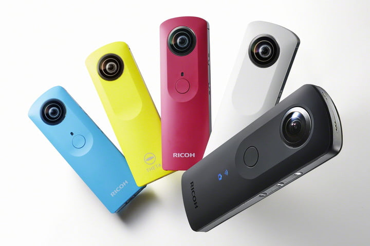 ricoh theta second developers contest s 5 with m15