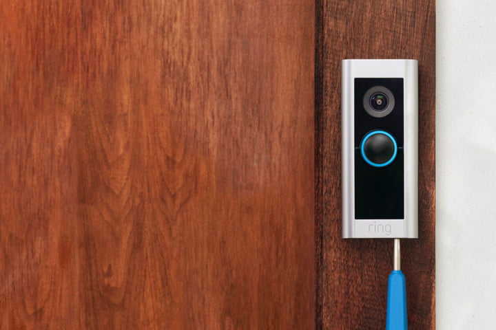 Screw driver used to install Ring Video Doorbell Pro 2.