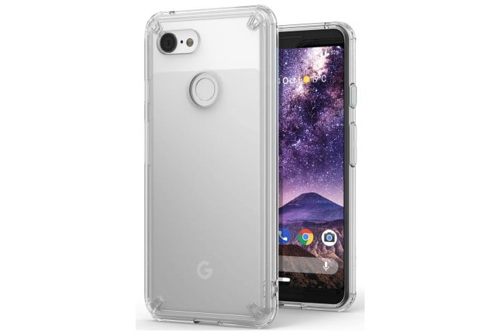 Ringke Fusion Clear Case for the Google Pixel 3.