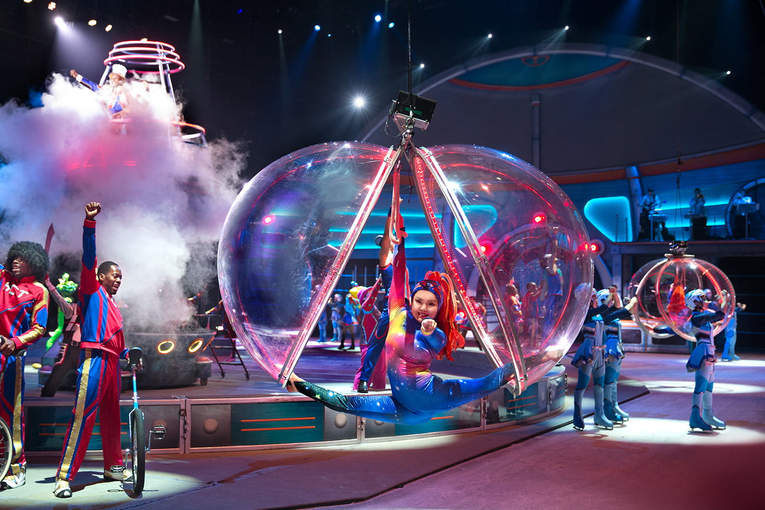 Ringling Brothers new high-tech circus